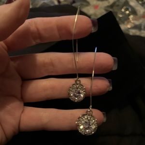 🧞♂️Lane Bryant Dangling Earrings Silver